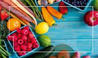 Frutas y verduras, aliadas de una alimentación saludable